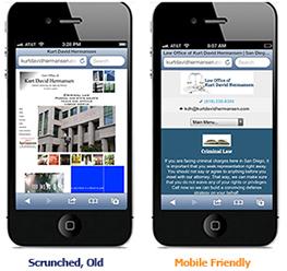 mobile web design oceanside